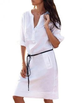 https://www.xolluteon.com/wp-content/uploads/2019/07/S-XL-Woman-Casual-Half-Sleeve-Buttons-V-Neck-Mini-Dress-with-Belt-Loose-Pockets-Work-15.jpg_640x640-15.jpg