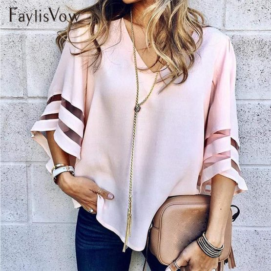 https://www.xolluteon.com/wp-content/uploads/2019/07/V-Neck-Flared-Sleeves-Mesh-Patchwork-Shirts-Summer-Plus-Size-Casual-Loose-Mesh-Women-Blouse-Pink.jpg_640x640.jpg