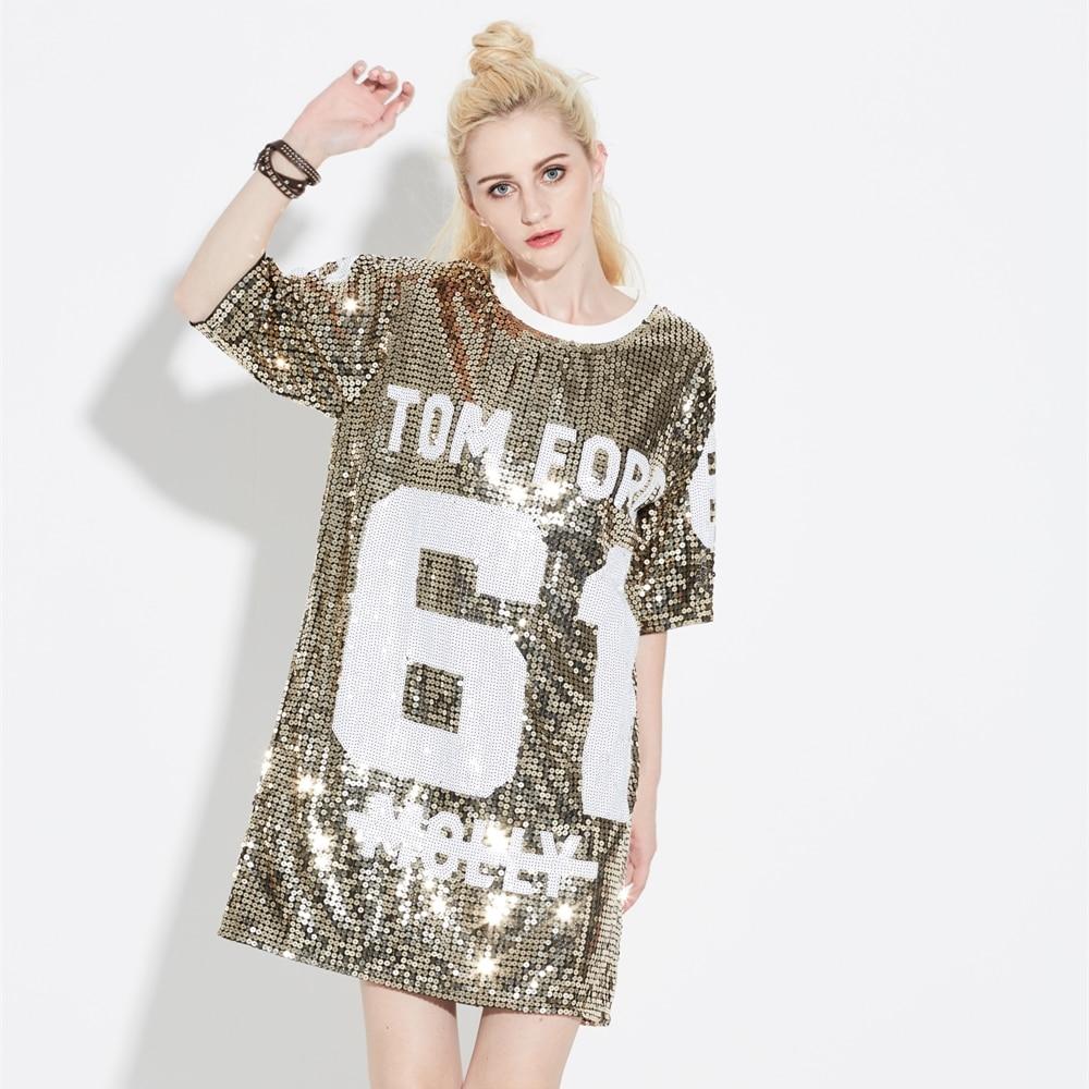 t shirt glitter dress